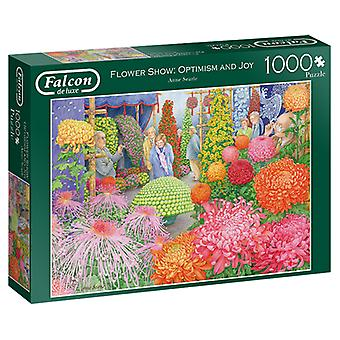 Falcon De Luxe Puzzel - The Flower Show, 1000 Stuk