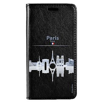 Case For Huawei P20 Lite Noir Motif Monuments De Paris