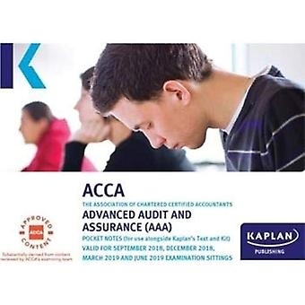 ADVACNED AUDIT AND ASSURANCE (AAA - INT/UK) - EXAM KIT by Kaplan Publ