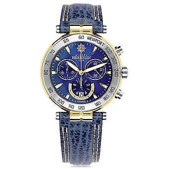Michel Herbelin | Mens | Newport originelen | Chronograaf 37654/T35 horloge
