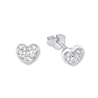Amor 339124 - Silver earrings 925 and crystal