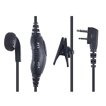 Dual Jack Headset Earphone/Mic (suit Tx665/667/675/677/6155)