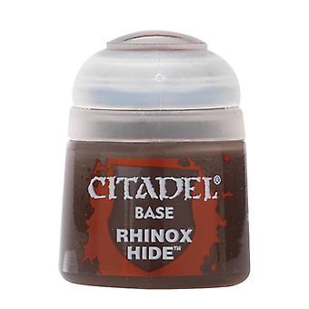 Rhinox Hide, Citadel Paint - Base, Warhammer 40,000/Age of Sigmar