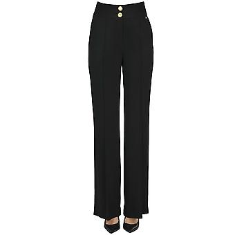 Nenette Ezgl266135 Women's Black Viscose Pants