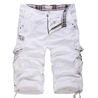YANGFAN Men's Outdoor Casual Cargo Shorts with Multi Pockets