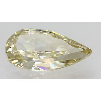 Certified 1.89 Carat K Color VVS2 Pear Natural Loose Diamond 11.72x6.25mm 2VG