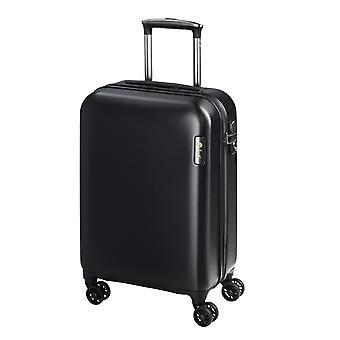 d&n Travel Line 8200 Handbagage Trolley S, 4 wielen, 54 cm, 38 L, Zwart