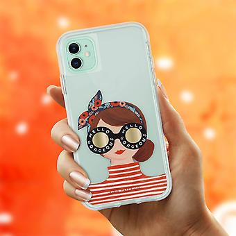 Case for iPhone 11 Anti-drop- Gorgeous Girl- Rifle Paper- Case Mate