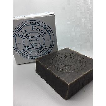 Six foot & clean ground swell soap bar