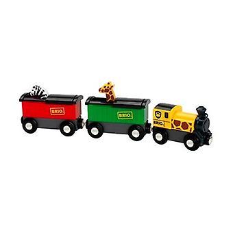 BRIO Safari Train 33722 for Wooden Train Set