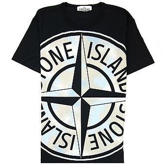 Stone Island Big Loom Tshirt Preto