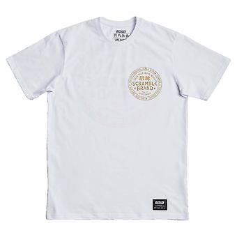 Scramble More Work T-Shirt White