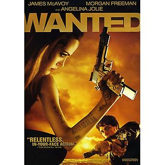 Wanted [DVD] USA import