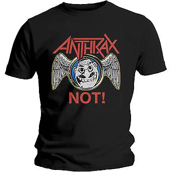 Anthrax Not Wings Official Tee T-Shirt Mens Unisex
