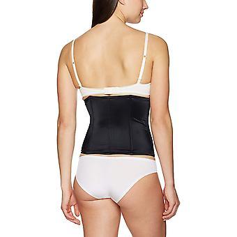 Arabella Women's Firm Control Waist Cincher with Boning Shapewear, Black, Med...