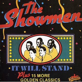Showmen - det Will Stand [CD] USA import