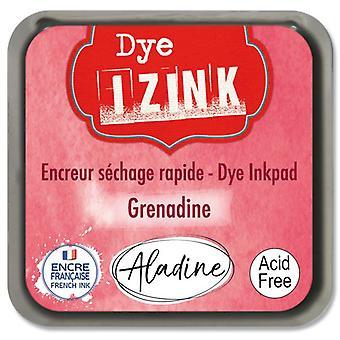 Aladine Inkpad Izink Dye Rouge Grenadine