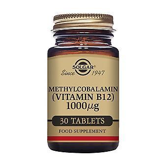 Solgar فيتامين B12 ميثيلكوببالامين 30 حبة من 1000μg