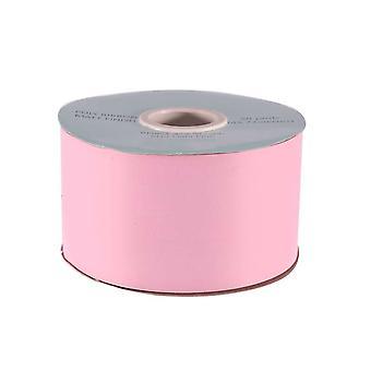 45m Matt Light Pink 5cm Wide Floristry Poly Ribbon voor Ambachten
