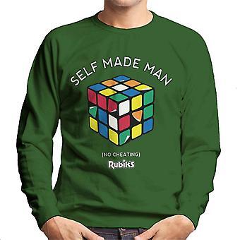 Rubik's zelfgemaakte man mannen Sweatshirt