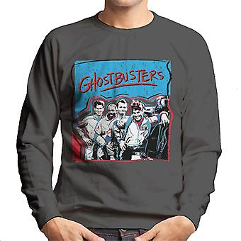 Ghostbusters Crew Drawn Portrait Men's Sweatshirt