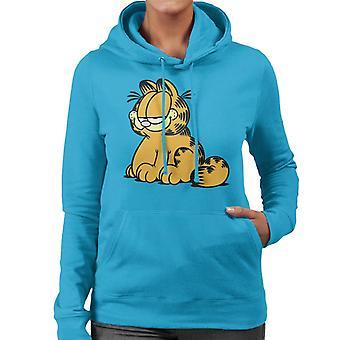Garfield smug ser kvinnor ' s Huvtröja