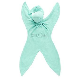 Cuskiboo Organic Bamboo Baby Comforter - Minty Boo