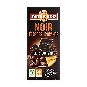 Dark chocolate with organic orange 100 g