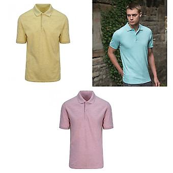 AWDis Just Polos Mens Surf Melange Pique Polo Shirt