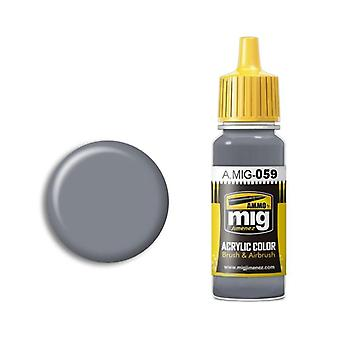 Ammo by Mig Acrylic Paint - A.MIG-0059 Grey (17ml)