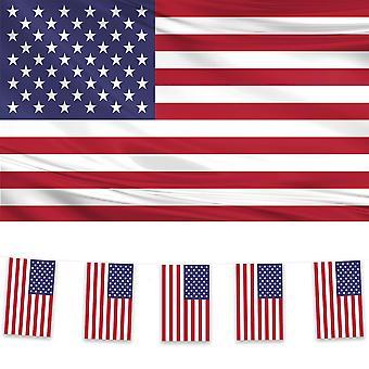Vlag en Bunting Pack van de Verenigde Staten van Amerika