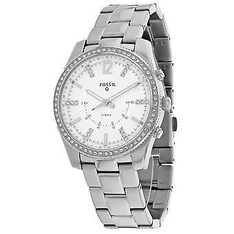 175, Mujer Fósil 's FTW5015 Reloj de Plata de Cuarzo