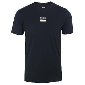 Hugo boss men's navy tee 6 t-shirt