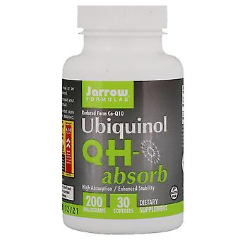 Jarrow Formulas, Ubiquinol, QH-Absorb, 200 mg, 30 Softgels