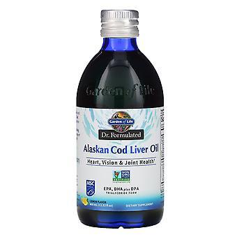 Garden of Life, Dr. Formulated, Alaskan Cod Liver Oil, Lemon, 13.52 fl oz (400 m