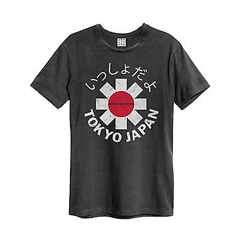 Red Hot Chili Peppers T Shirt Tokyo Japan Official Amplified Vintage Charcoal