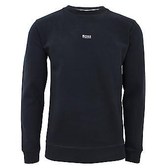Hugo boss men's black weevo sweatshirt
