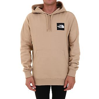O North Face Nf0a4syh7e Men's Bege Cotton Sweatshirt