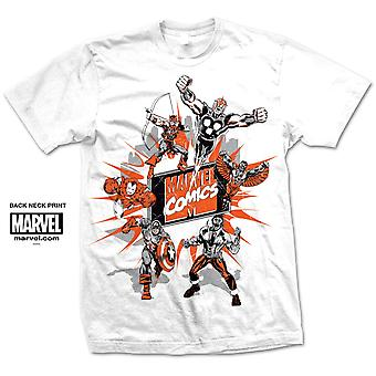 Marvel Comics Marvel Montage 2. Official Tee T-Shirt Unisex