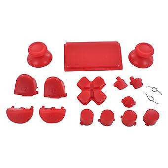 Full button set for ps4 pro sony controllers mod kit replacement repair kit - red | zedlabz