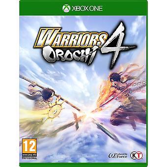 Warriors Orochi 4 Xbox One Game