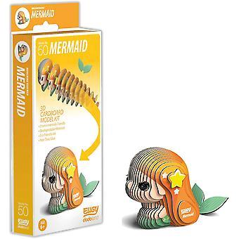 Eugy 3D Mermaid Model Craft Kit