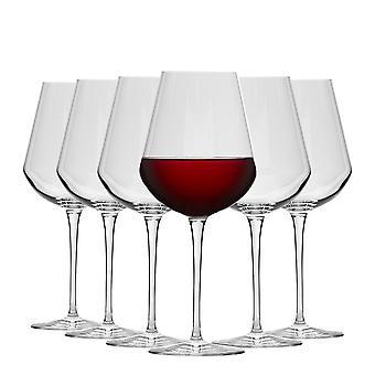 Bormioli Rocco Inalto Uno Grote Wijn glazen Set - 560ml - Pack van 6