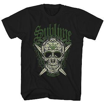 Sublime T Shirt California Skull Sublime Shirt