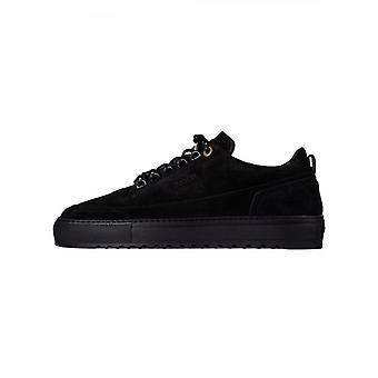 Mason Vêtements Black Firenze Suede Sneaker