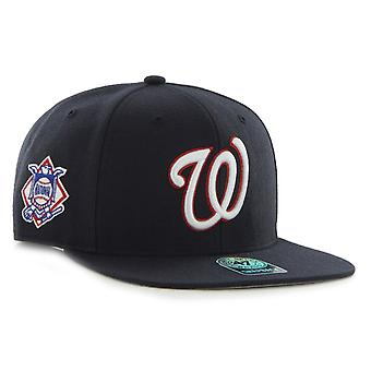 47 Brand Snapback Cap - SURE SHOT Washington Nationals navy