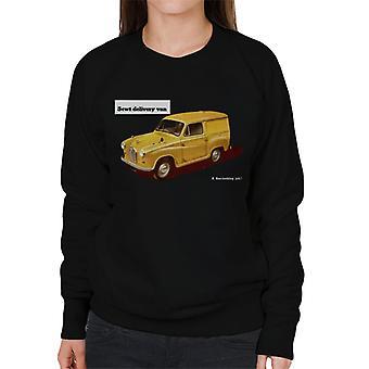 Austin 5cwt Delivery Van British Motor Heritage Women's Sweatshirt