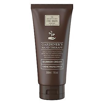Tuinmannen Hand Therapy Barrier Cream 200ml door Schotse Fine Soaps
