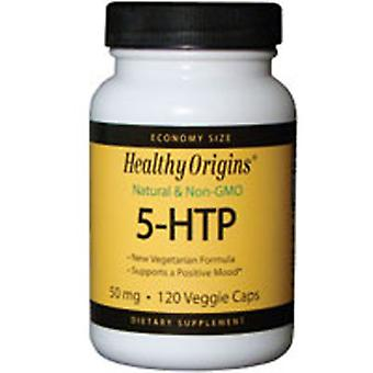 Healthy Origins 5-HTP, 50MG, 120 Caps