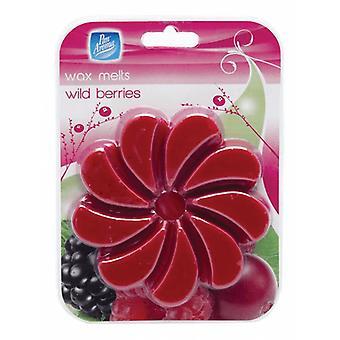 Pan Aroma Wax Melts For Oil Wax Burners 85g 9 Segments ~ Wild Berries